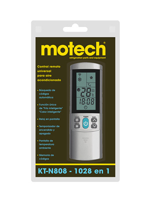 CONTROL REMOTO UNIVERSAL MOTECH KT-N808
