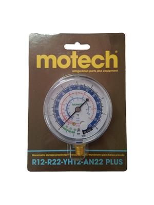MANOMETRO DE BAJA MOTECH R12/R22 - 1/8NPT