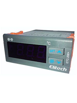 CONTROL DE TEMPERATURA ELITECH ETC-200 (1 SENSOR)