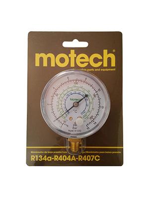 MANOMETRO DE BAJA MOTECH R134a/R404A/R407C - 1/8NPT